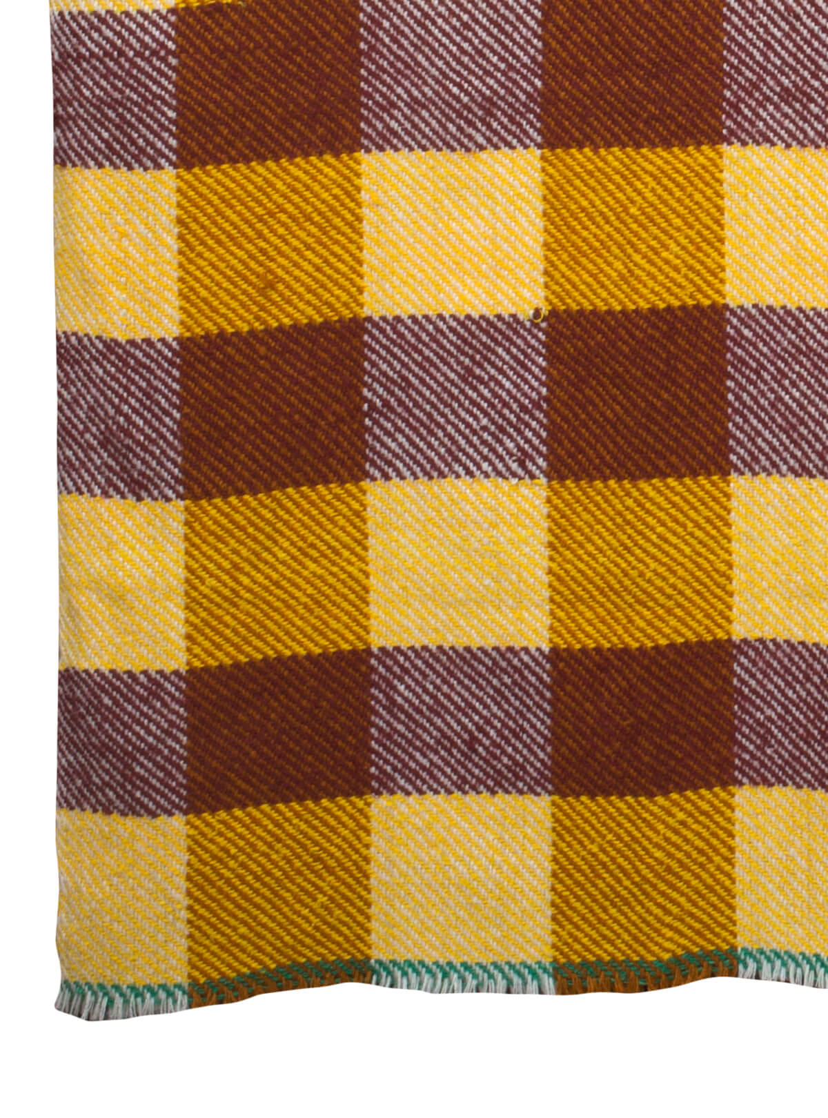 Hand Loomed Blanket Made By Recycled Fabric
