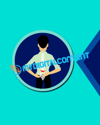 Chiropractor Sliped Disc 2D Animated Explainer Video