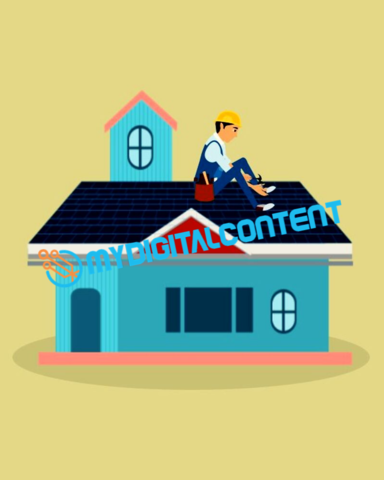 Roof Repair 2D Animated Explainer Video