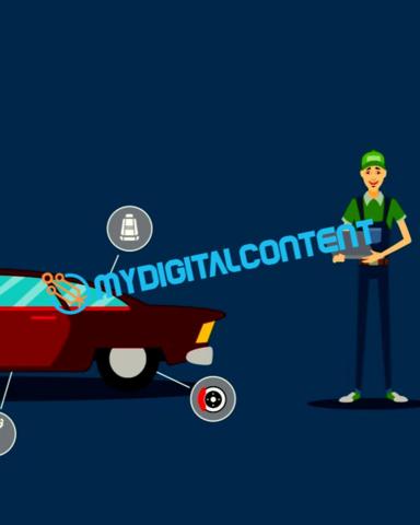 Auto Repair 2D Animated Explainer Video
