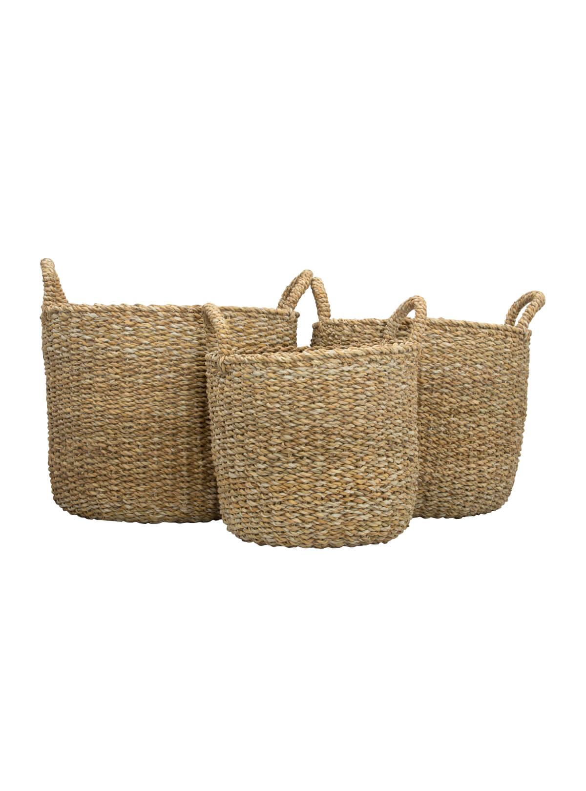 Sea Grass Woven Eco-Friendly Basket
