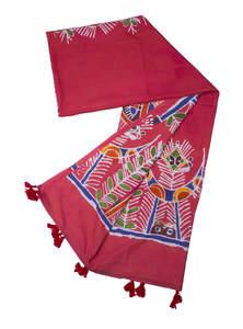 Wax Dyed Cotton Shawl