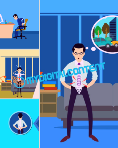 Chiropractor 2D Animated Videos Package
