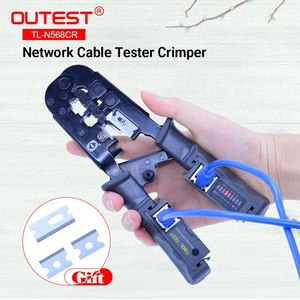 Multi functional Crimping Tool With Cable Tester
