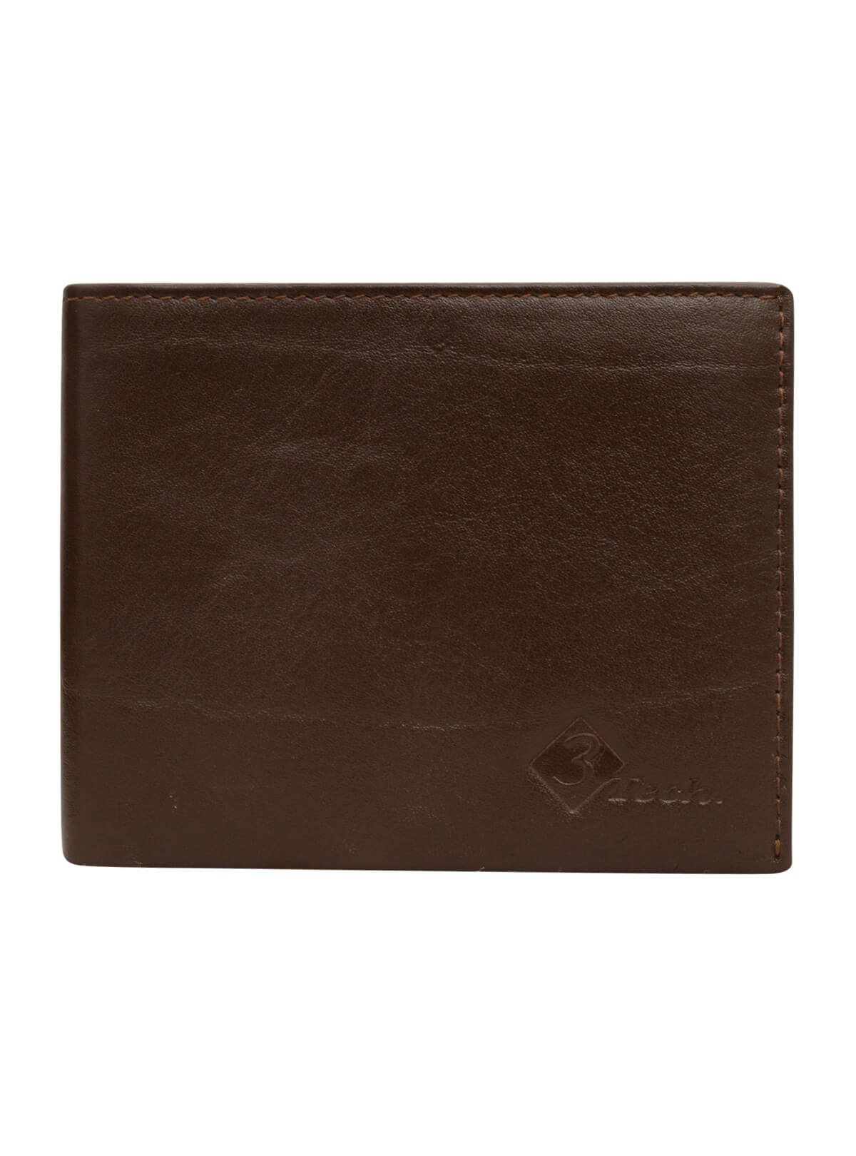 Personalised Plain Leather Wallet