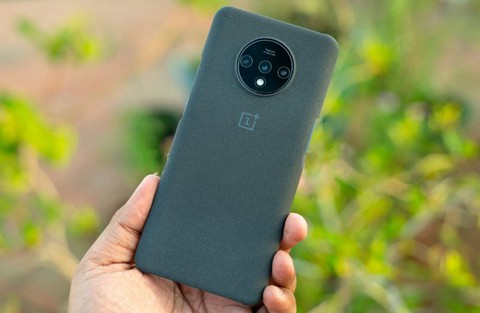 Oneplus 7T Official Sandstone Case