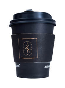 Eco-Friendly Thermal Insulated Disposable Hot Paper Tea/ Coffee Cup