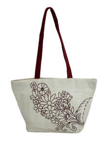 Eco-Friendly Heritage Green Natural Jute Plane Woven Reusable Ladies Shoulder Bag