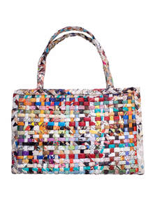 Eco-Friendly and Recycled Handmade Paper Ladies Bag
