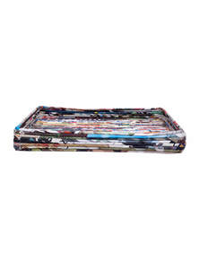 Eco-Friendly and Recycled Handmade Paper Tray
