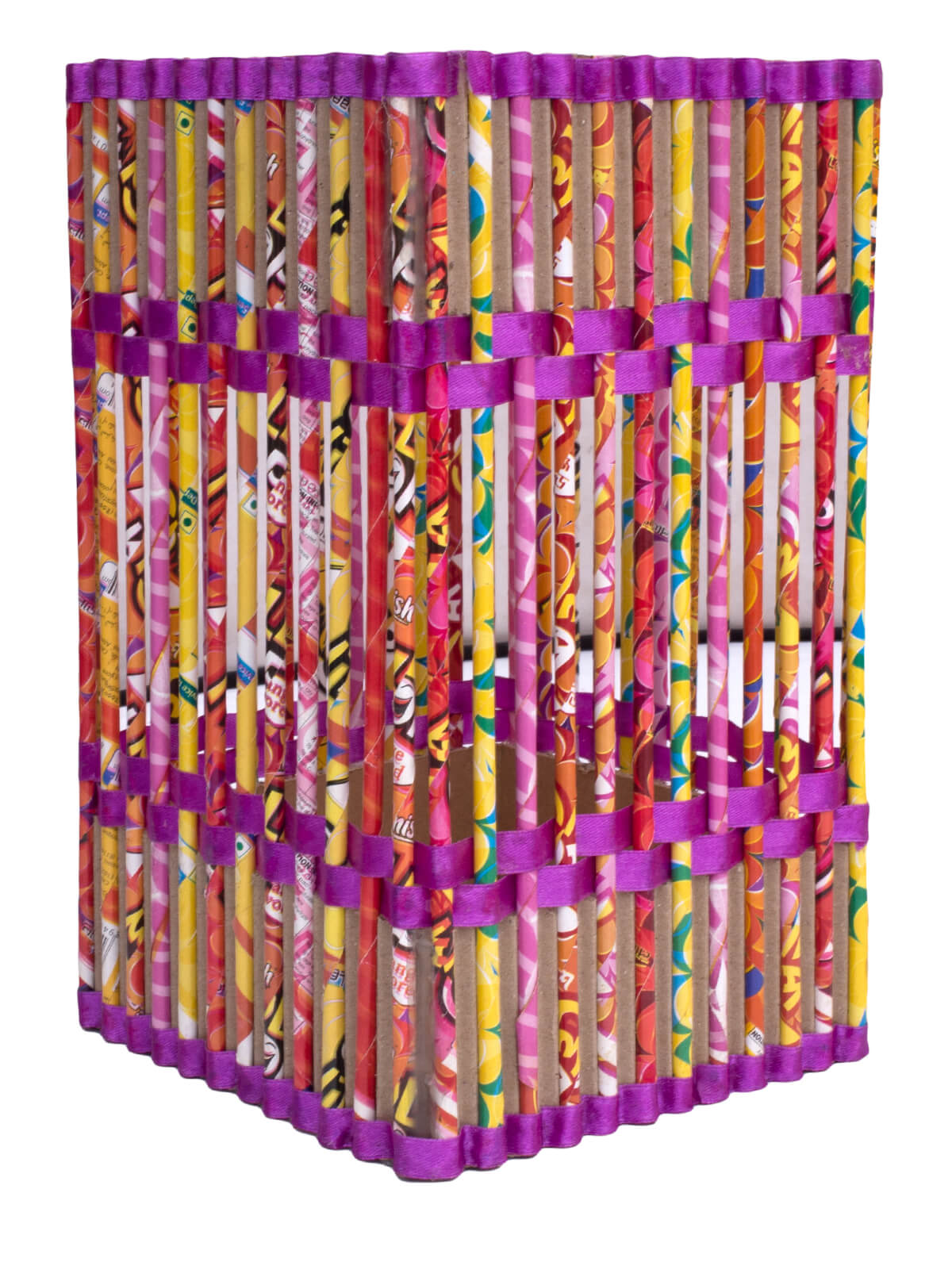 Eco-Friendly and Recycled Handmade Paper Lamp Shade