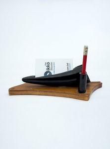 Black Buffalo Horn's Card Holder & Pen Case
