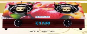 Heigar 405 GL (Double Glass Auto Gas Stove)