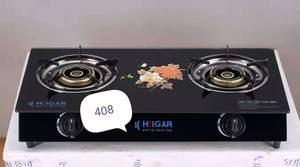 Heigar 408 GL (Double Glass Auto Gas Stove)