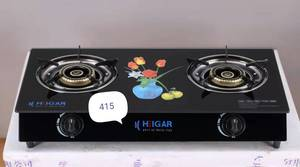 Heigar 415 GL (Double Glass Auto Gas Stove)