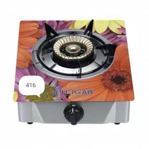 Heigar 416 GL (Single Glass Auto Gas Stove)