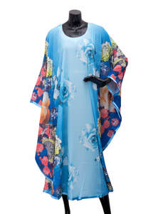 Fancy Georgette Ladies Single Abaya
