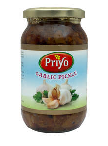 Traditional Handmade Hot & Spicy Garlic Pickle