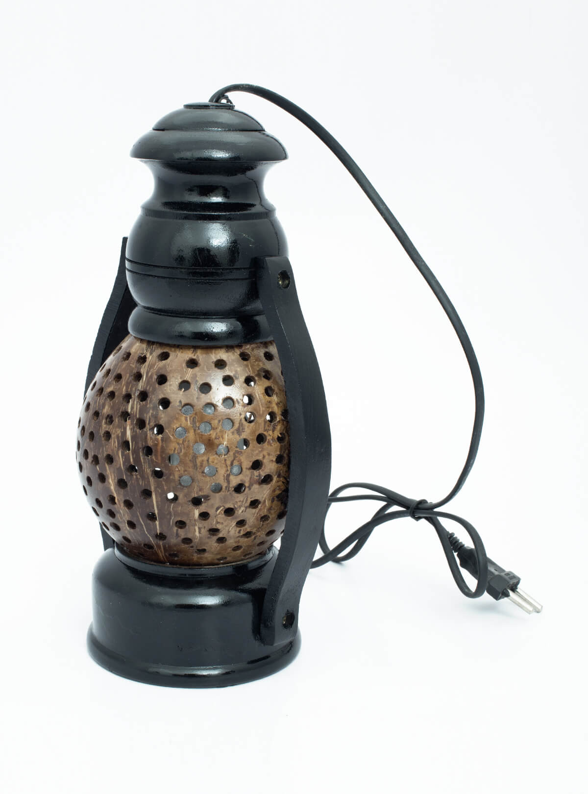 Eco-Friendly & Decorative Handmade Natural Coconut Shell Lantern