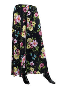 Stretched & Long Wide Leg Trousers Pants Palazzo For Women