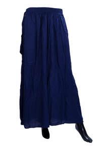 Long Wide Leg Trousers Pants Skirt Palazzo For Women