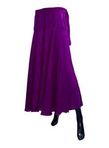 Long Wide Leg Trouser- Umbrella Palazzo Pants For Women