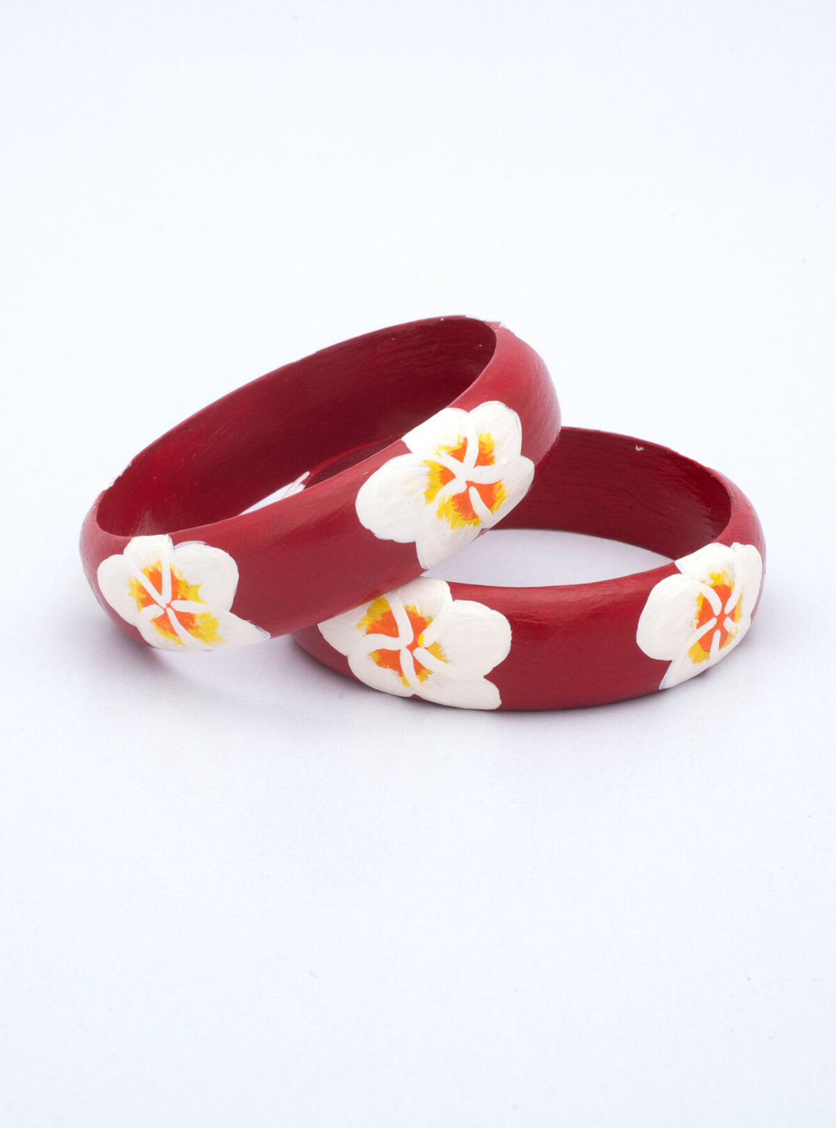 Handmade Natural Wooden Bangle (Bala)