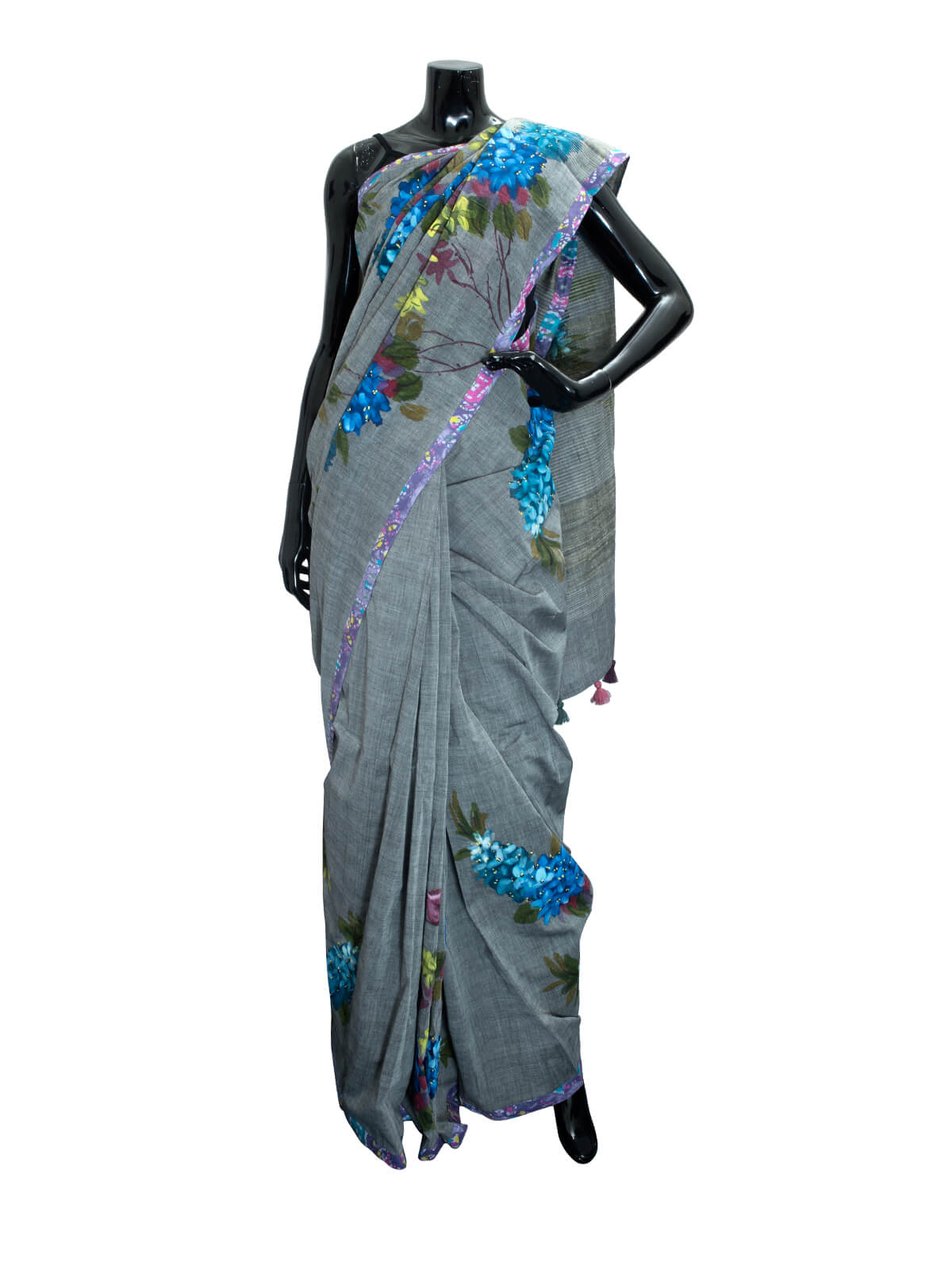Hand Loomed Cotton Saree For Women