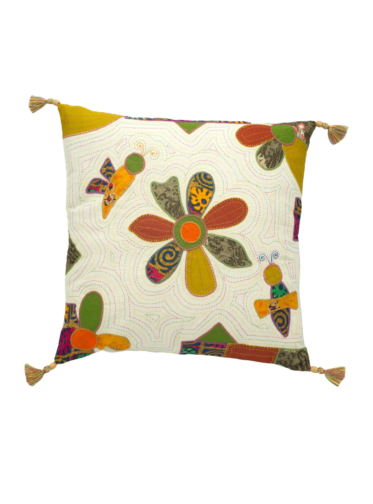 Handmade Patchwork Cotton Cushion Cover