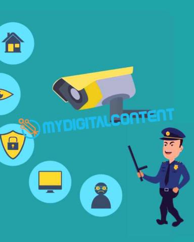 CCTV 2D Animated Explainer Video