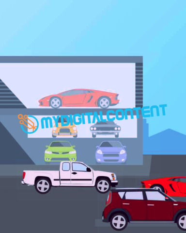 Car Dealership 2D Animated Explainer Video