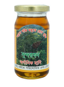 Sundarban Natural Khalisha Flower Raw Bee Honey 250 gm