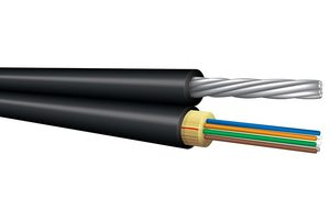 Messenger Optical Fiber 12 Core Figure 8 Cable