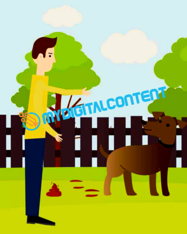 Pet Grooming 2D Animated Explainer Video