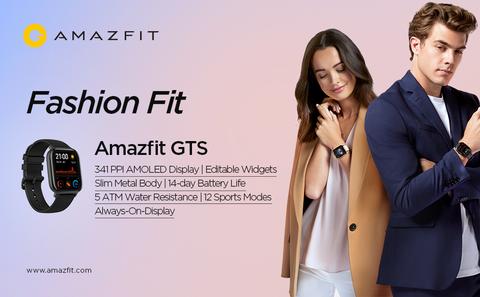 Amazfit GTS Smart Watch(Obsidian Black