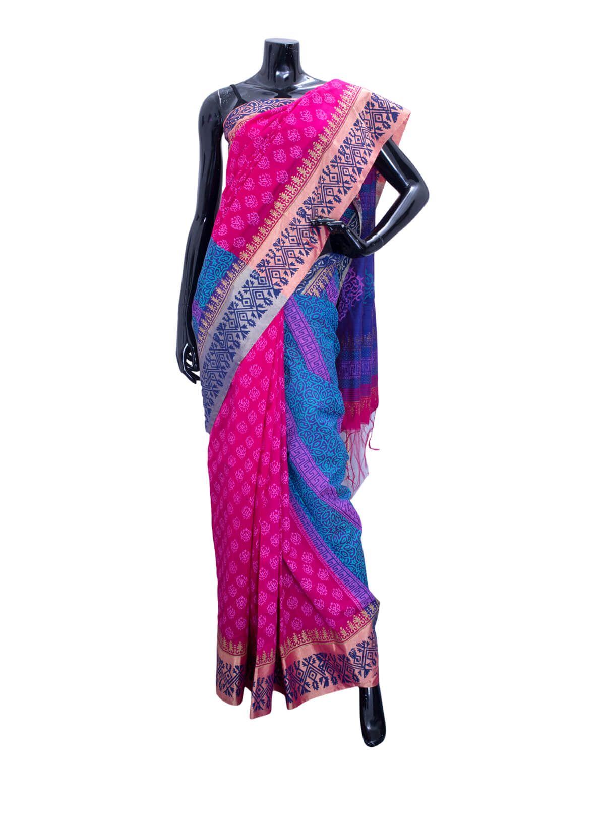 Hand Loomed Cotton Saree
