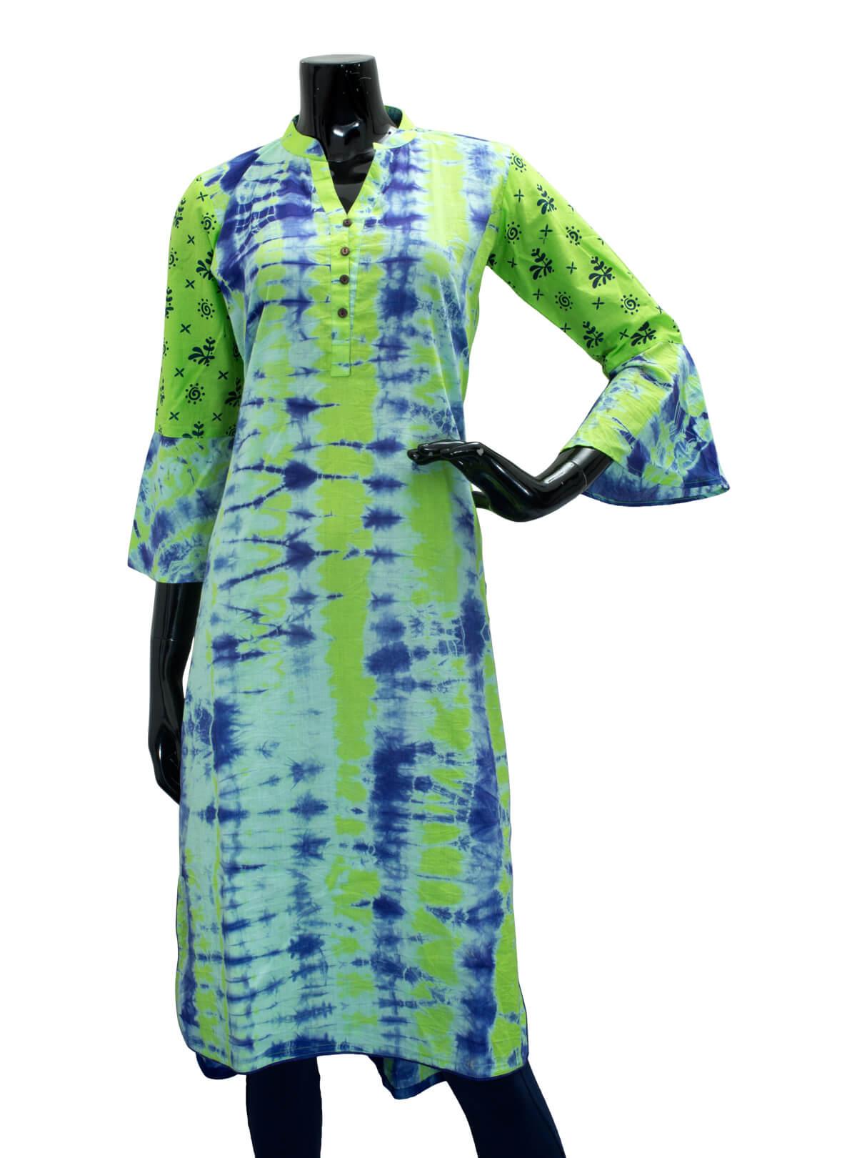 Ladies Tie-Dyed Kurta/ Kurti