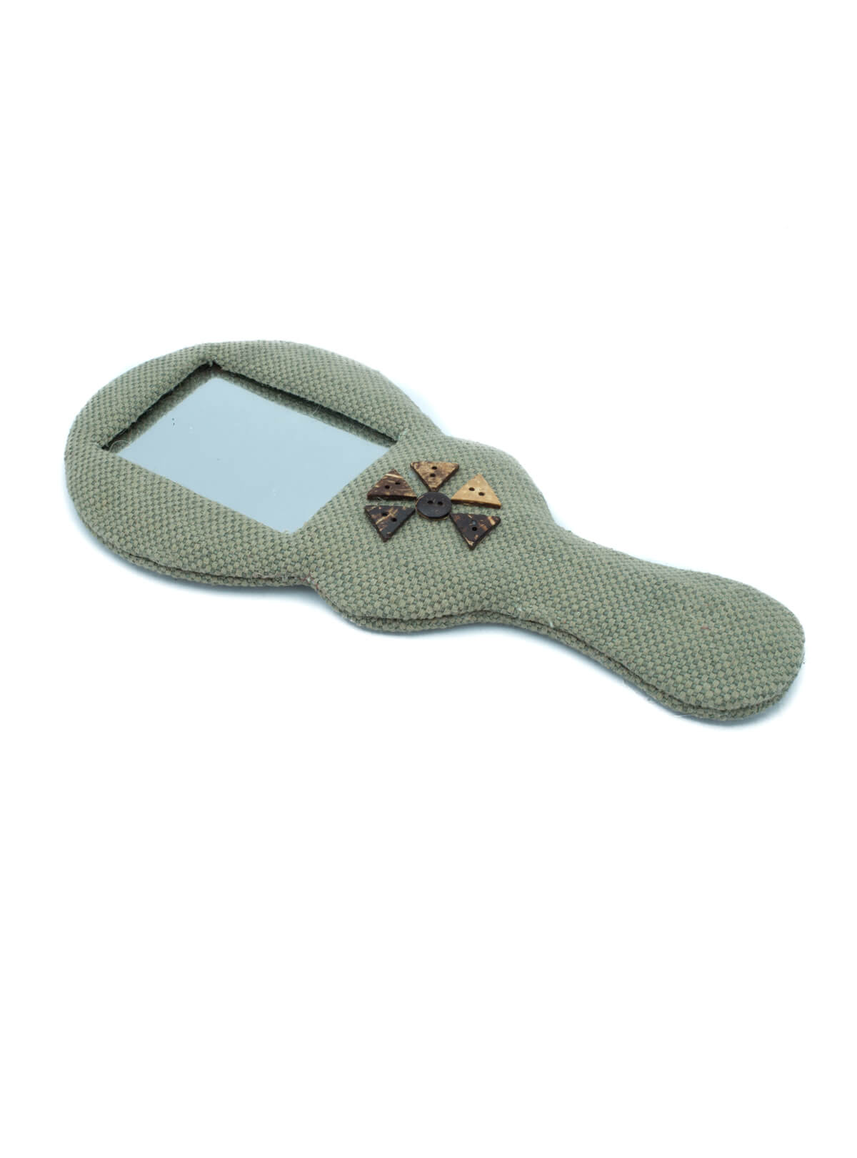 Eco-Friendly Jute Hand Mirror