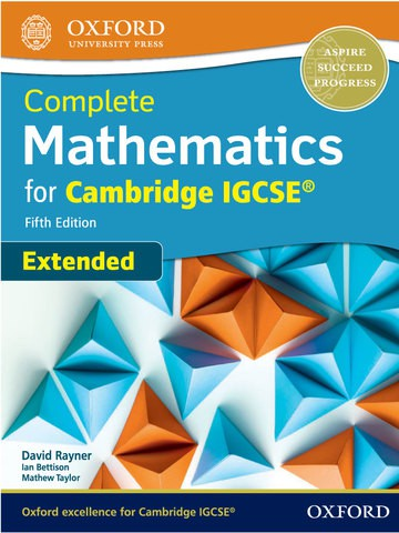 Complete Mathematics for Cambridge IGCSE