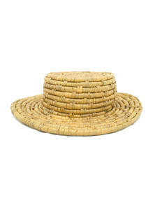 Eco-Friendly Fedora Hat From Water Hyacinth