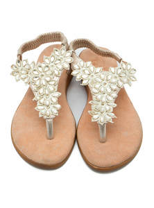 Brown Ladies Leather Sandals