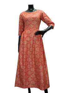 Printed Ladies Cotton Gown