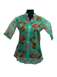 Ladies Muslin Shirt