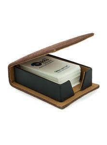 Eco-Friendly Business Card Holder for Desk