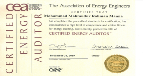 Energy Audit for   Gas T&D Sector