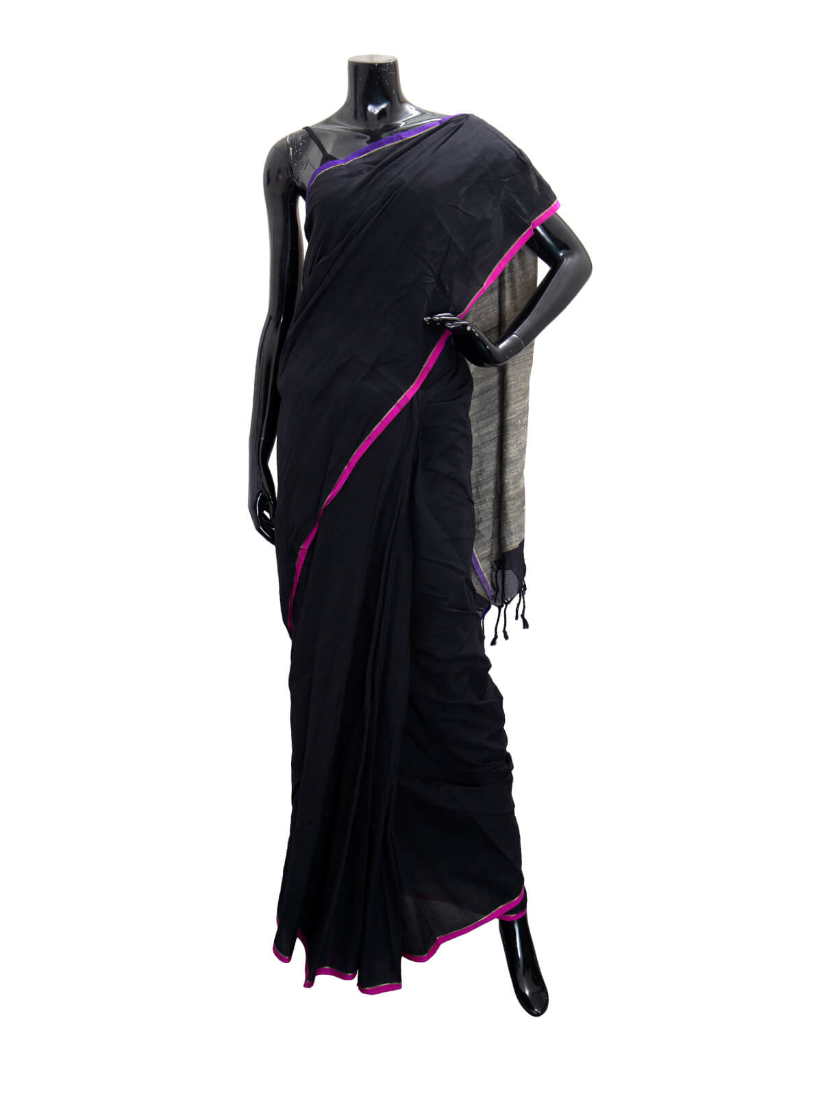 Hand Loomed Endi Cotton Saree For Women
