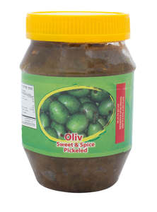 Hot & Spicy Olive Pickles
