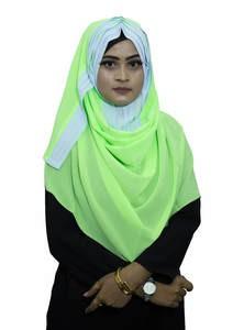 Pleat Instant Hijab for Elegant Muslim Women