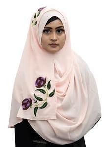 Double Loop Instant Hijab for Elegant Muslim Women