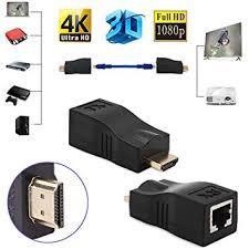 HDMI Extender 30M Over Single Cat 5e/6-Black
